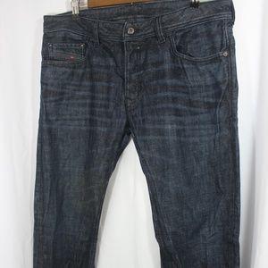 Diesel SAFADO Jeans 36 x 32 Dark wash button fly